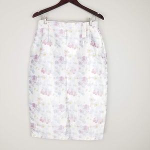 Kingdom and State Floral Pencil Skirt sz Large